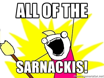 ALL OF THE SARNACKIs