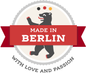Made in Berlin Badge